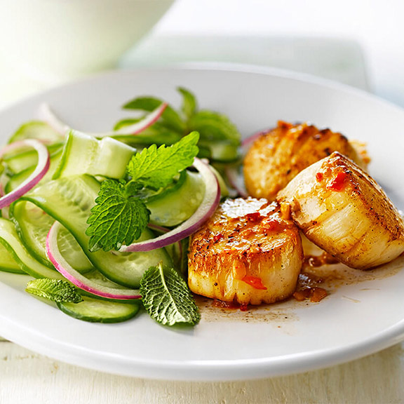 11SPICY SCALLOPS